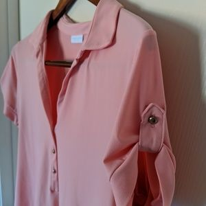New York & Company stretch loose blouse